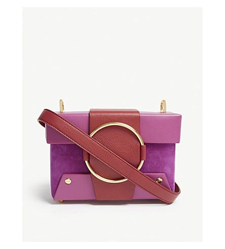 YUZEFI Asher leather shoulder bag