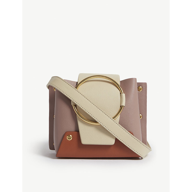 YUZEFI Mini Delila leather shoulder bag