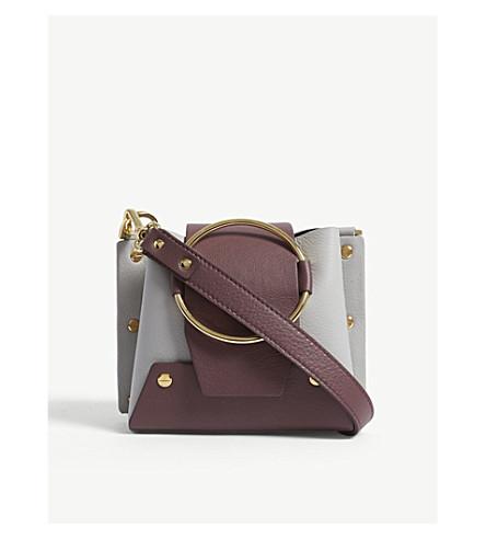 YUZEFI Mini Delila leather shoulder bag (Cb08