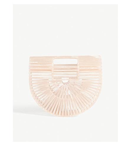 CULT GAIA Acrylic Ark mini bag (Gaia+pink