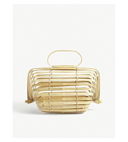 CULT GAIA The Lilleth bamboo handbag (Natural