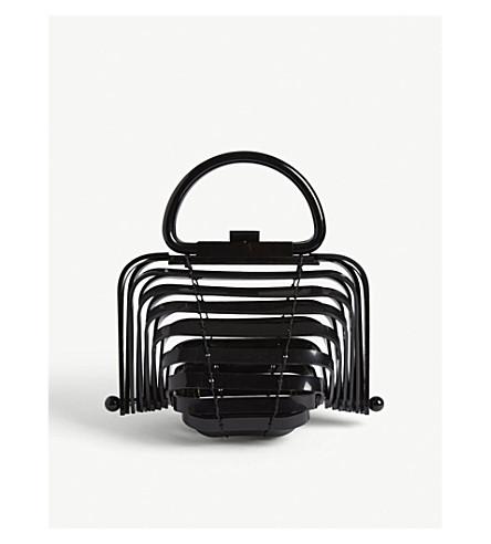 CULT GAIA The Lilleth small acrylic handbag (Black