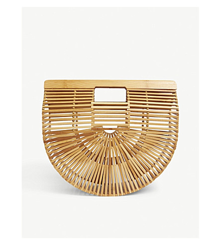 CULT GAIA Ark large bamboo bag (Natural