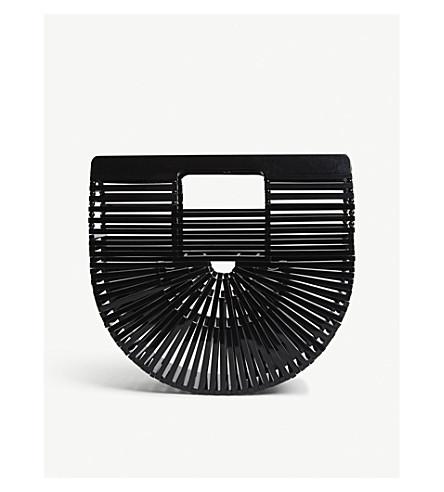 CULT GAIA Ark acrylic mini clutch (Black