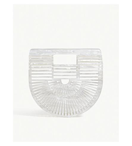 CULT GAIA Ark mini acrylic clutch (Pearl