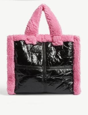 Lolita shearling tote bag(8353891)