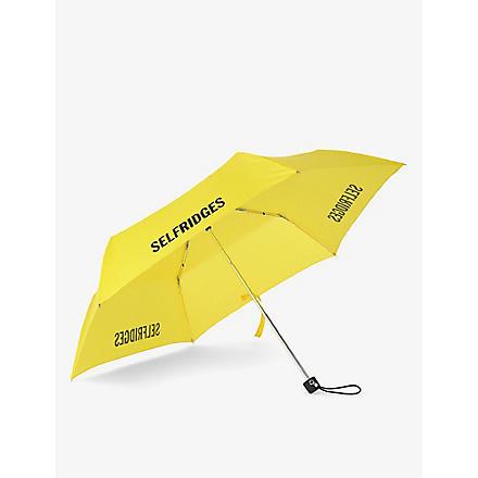 FULTON Selfridges super slim umbrella (Yellow