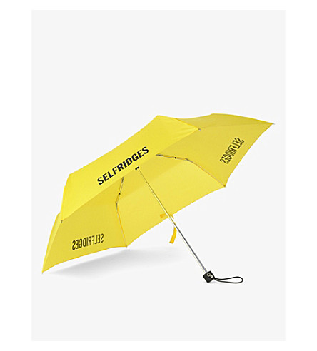 FULTON Selfridges super slim umbrella (Yellow