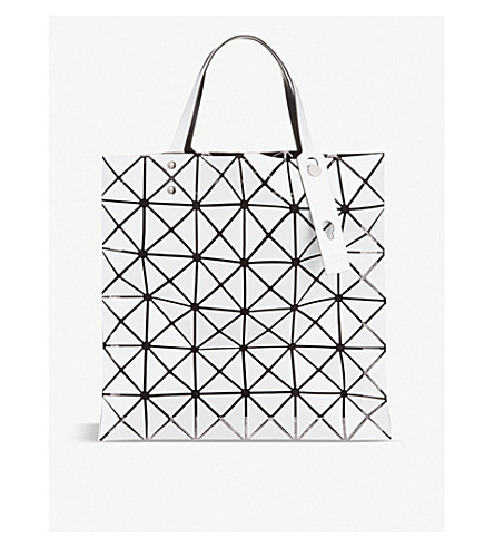 ... BAO BAO ISSEY MIYAKE Lucent Basic tote (White. PreviousNext 047e690d34ffb