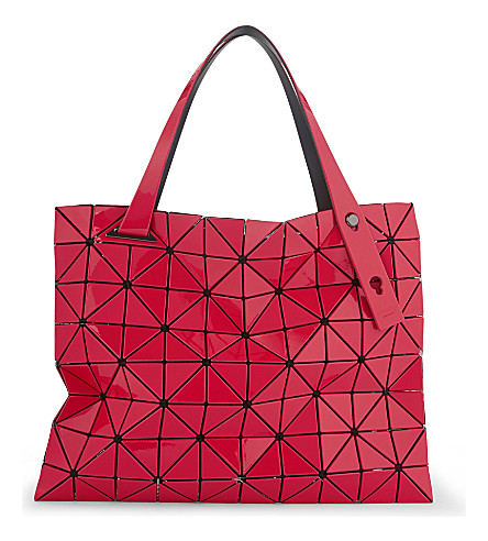 BAO BAO ISSEY MIYAKE Carton T shoulder bag (Red