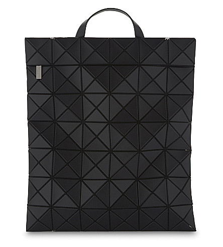 BAO BAO ISSEY MIYAKE Prism 扁包背包 (黑色