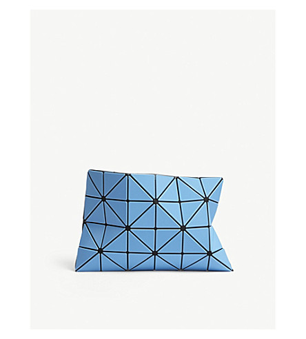 BAO BAO ISSEY MIYAKE Lucent Frost pouch (Blue