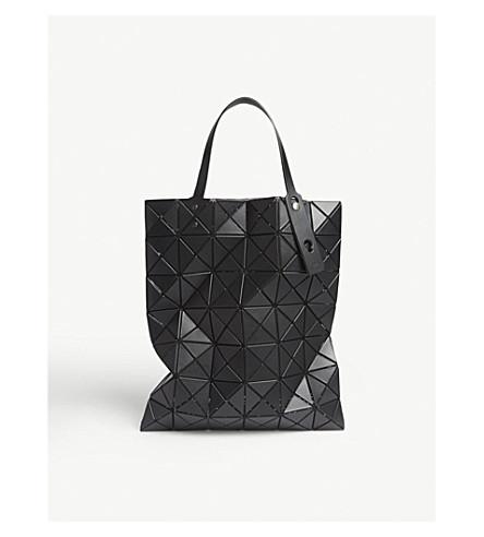 BAO BAO ISSEY MIYAKE Lucent matte shopper (Matte black
