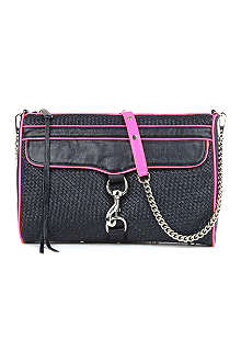 REBECCA MINKOFF MAC Daddy woven clutch