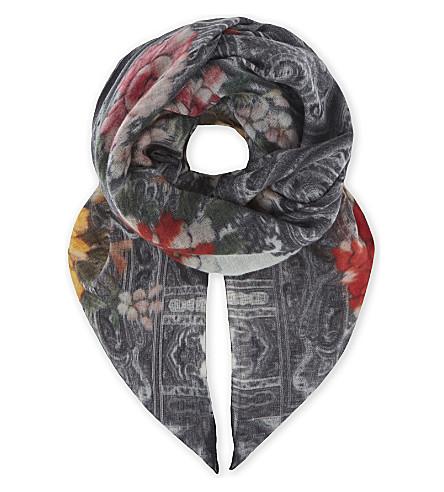 ETRO Scialle cashmere scarf (Multi