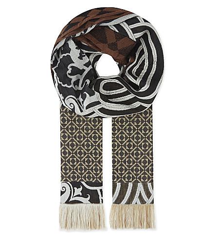 ETRO Jacquared scarf (Multi