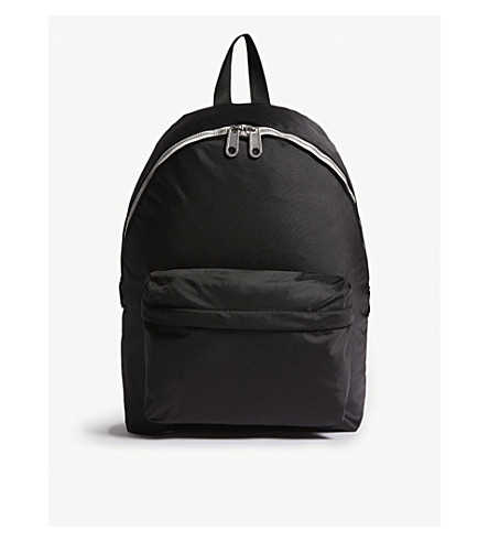 TOMMY JEANS Tape logo canvas backpack (Black