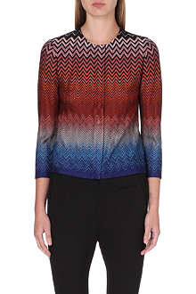 MISSONI Chevron knit cardigan