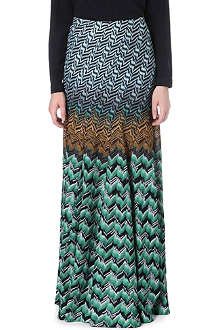 MISSONI Patterned maxi skirt