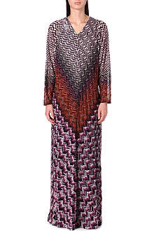 MISSONI Long-sleeved knitted dress