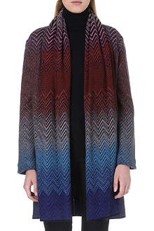 MISSONI Geometric-patterned knitted cardigan