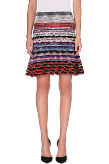 MISSONI Knitted midi flare skirt