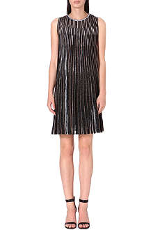MISSONI Pleated metallic dress