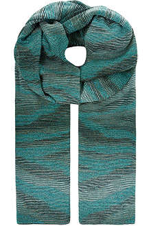 MISSONI Glitter knit wrap