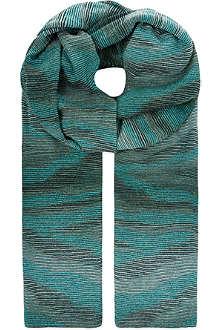MISSONI Glitter knit wrap
