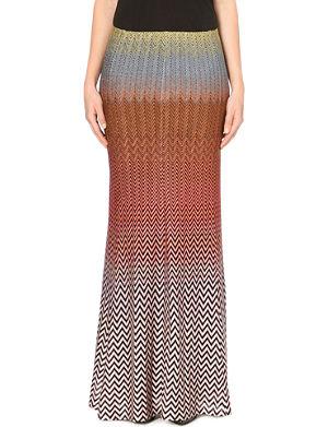MISSONI Knitted maxi skirt
