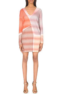 MISSONI Patchwork knitted dress