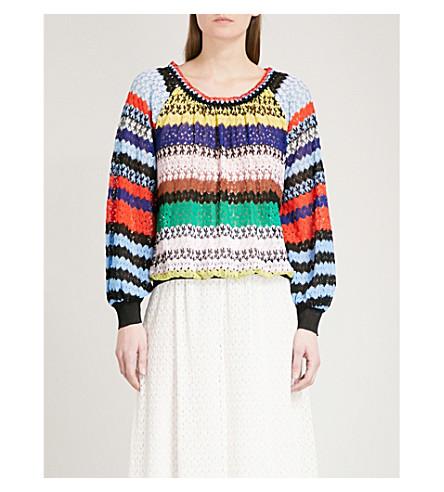MISSONI Multi-striped woven jumper (Multicolour