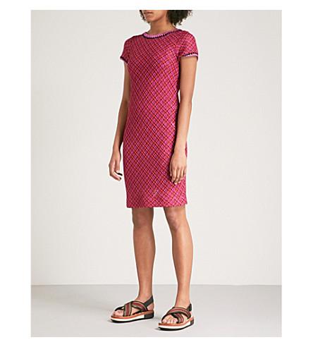 MISSONI Metallic woven dress (Pink