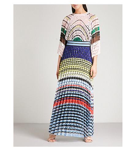 MISSONI Striped woven dress (Multicolour