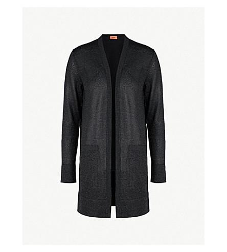 MISSONI Metallic knitted cardigan (Black