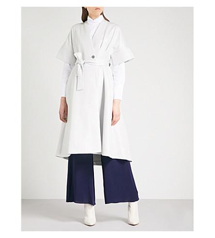 OSMAN Fleur metallic woven jacket (Silver