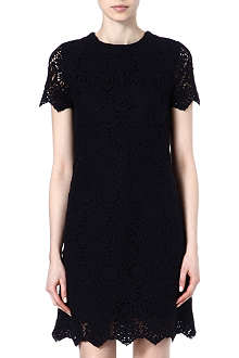 TORY BURCH Crochet shift dress