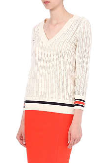 TORY BURCH Ozzy cotton jumper