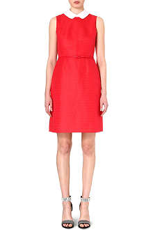 TORY BURCH Cotton-blend coral dress