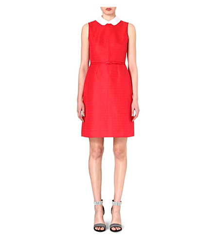 TORY BURCH Cotton-blend coral dress (Carnival