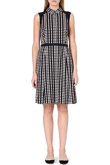 TORY BURCH Katy silk-blend dress