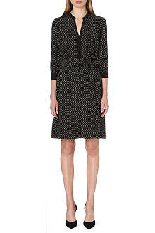 TORY BURCH Judi printed silk dress