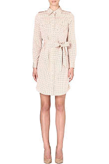 TORY BURCH Brigitte silk-blend shirtdress