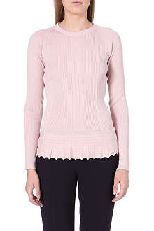 TORY BURCH Margaret peplum jumper