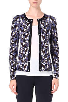 TORY BURCH Knitted pattern cardigan