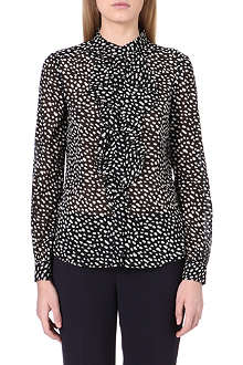 TORY BURCH Veta silk-chiffon blouse