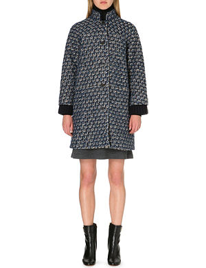 TORY BURCH Whitney tweed coat