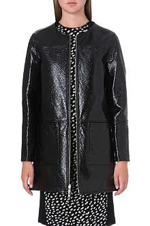 TORY BURCH Jade reversible patent coat