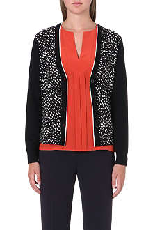 TORY BURCH Shia wool cardigan