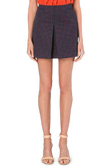 TORY BURCH Klarissa floral-print pleated skirt